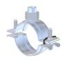 INOX Universal-Rohrschelle mit Schnellverschluss